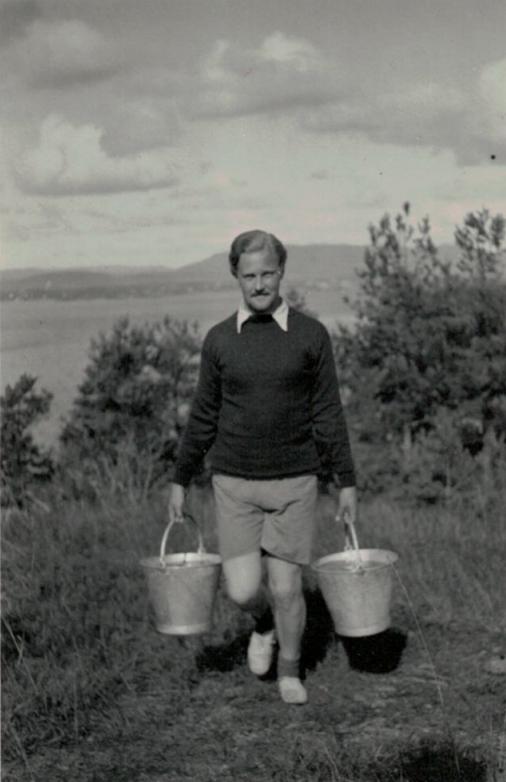Carl H. Hudtwalcker, Husbergøya, 1933