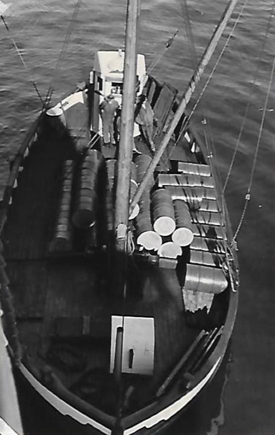 Skipning av Poultry Cod Liver Oil til New York. 1936