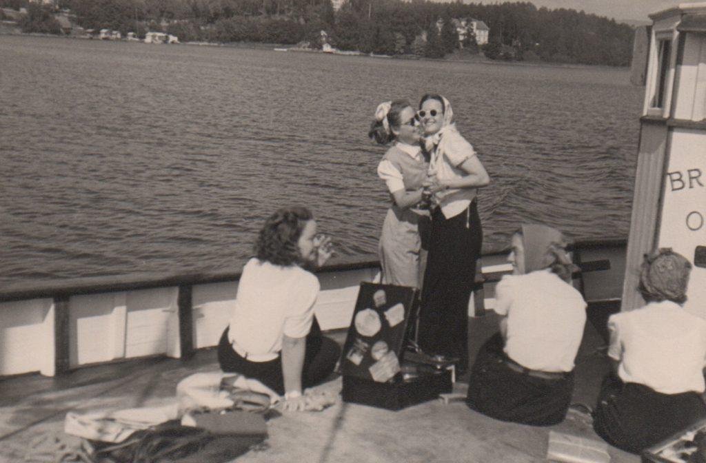 St. Hans feiring. Slutten av 1940-årene.